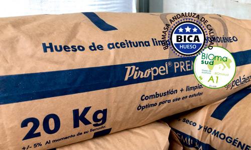 biomasa hueso aceituna venta