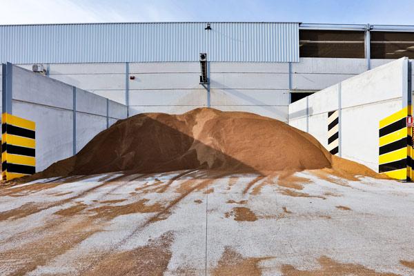 biomasa granel caldera